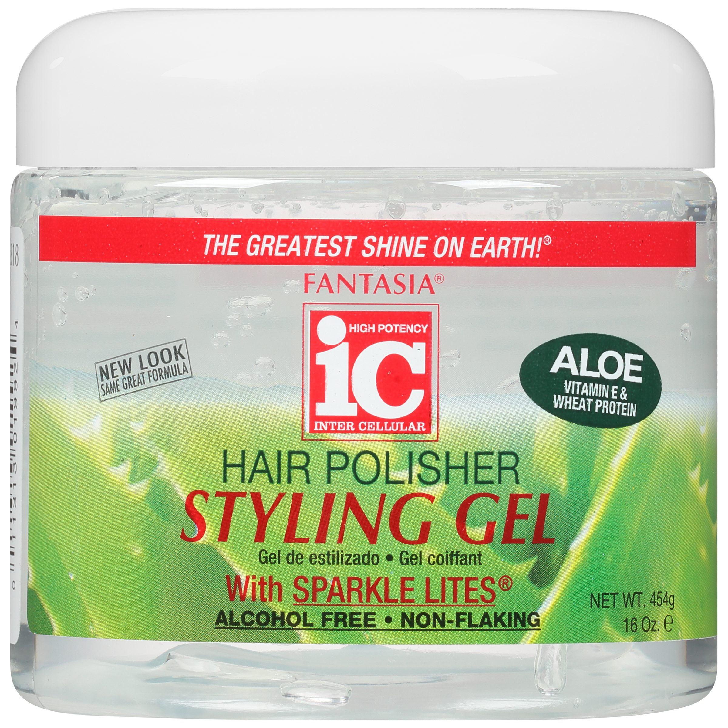 Fantasia Ic Hair Polisher With Sparkling Lites Styling Gel 16 0 Oz Walmart Com Walmart Com