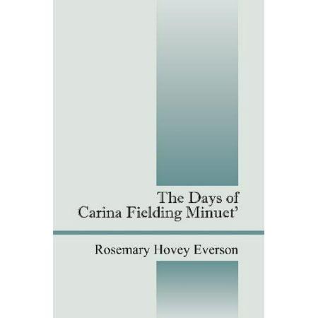The Days of Carina Fielding Minuet' - image 1 de 1