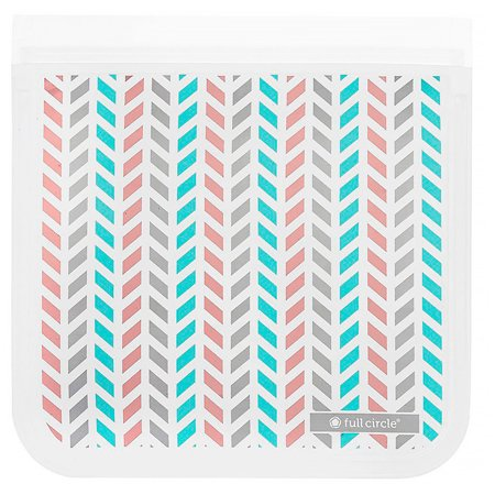 Full Circle Ziptuck Reusable Storage Bag Chevron 1 Bag