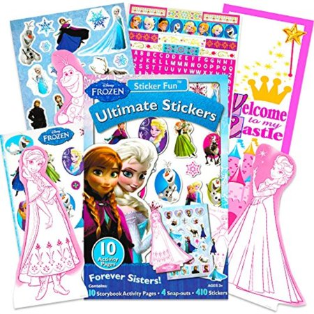 Disney Frozen Stickers - Over 200 Stickers - Elsa, Anna, Olaf, and - Olaf Stickers