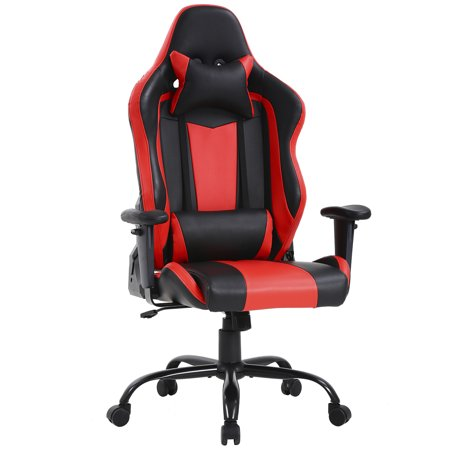 High-back Big and Tall Office Chair 400lbs Ergonomic Gaming Chair Rolling Swivel Adjustable Computer Chair with Lumbar Support Headrest Executive Chair for Women, Men