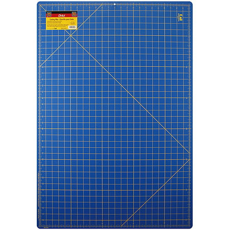 Self Healing Gridded Cutting Mat 24 X 36 Blue