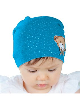 Baby and Toddler Blue Beanie Hat