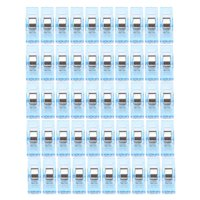 50 PCS Clear Sewing Craft Quilt Binding Plastic Clips Clamps Pack BU