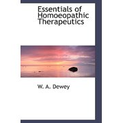 Essentials of Homoeopathic Therapeutics