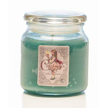 Patchouli Leaves - PATCHOULI PURE - Courtneys Candles Maximum Scented 16oz Medium Jar Candle