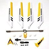 Full Set Replacement Parts for Syma S107 RC Helicopter, Main Blades, Main Shaft,Tail... by