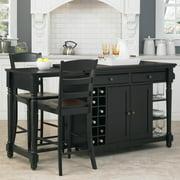 Home Styles Grand Torino Kitchen Island & Two Stools