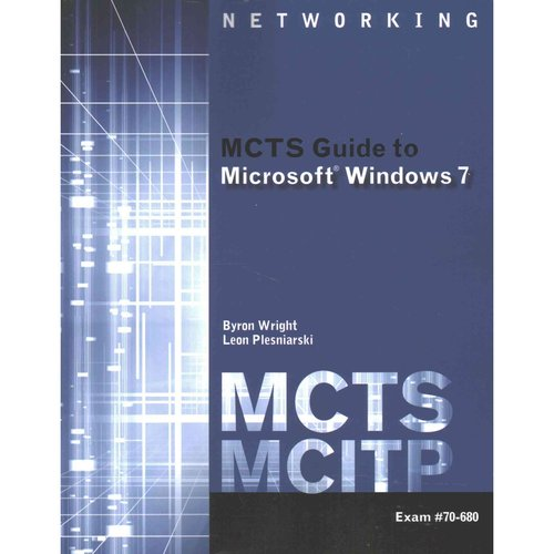 mcts guide to microsoft windows 7 exam 70 680 lab manual for mcts rh walmart com MCITP Salary MCITP Email Logo
