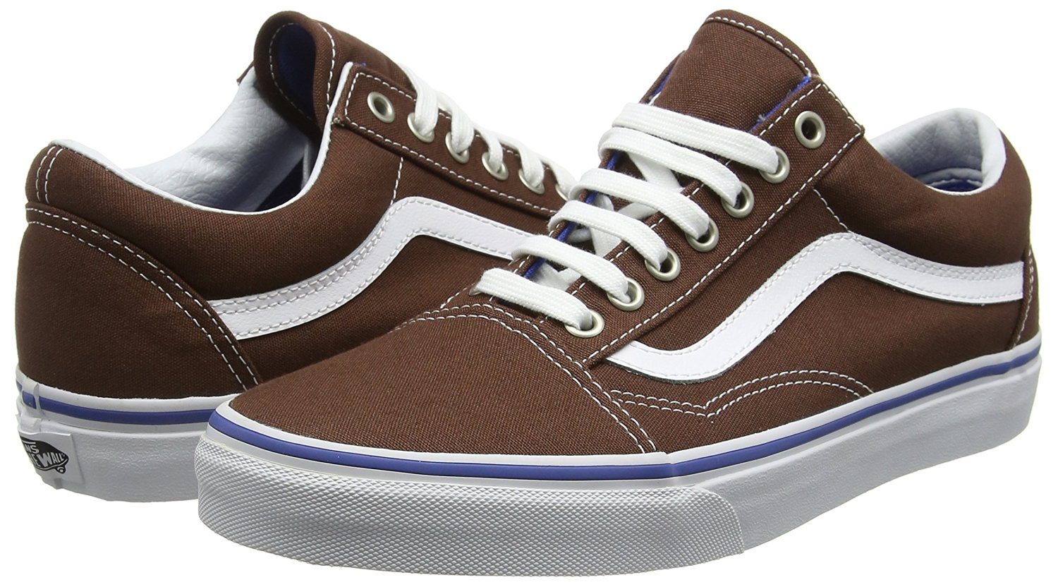 Vans Unisex Old Skool Skate Shoe-Chestnut