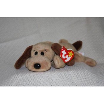 Ty Teenie Beanie Babies Bones The Hound Dog Stuffed Animal Plush Toy