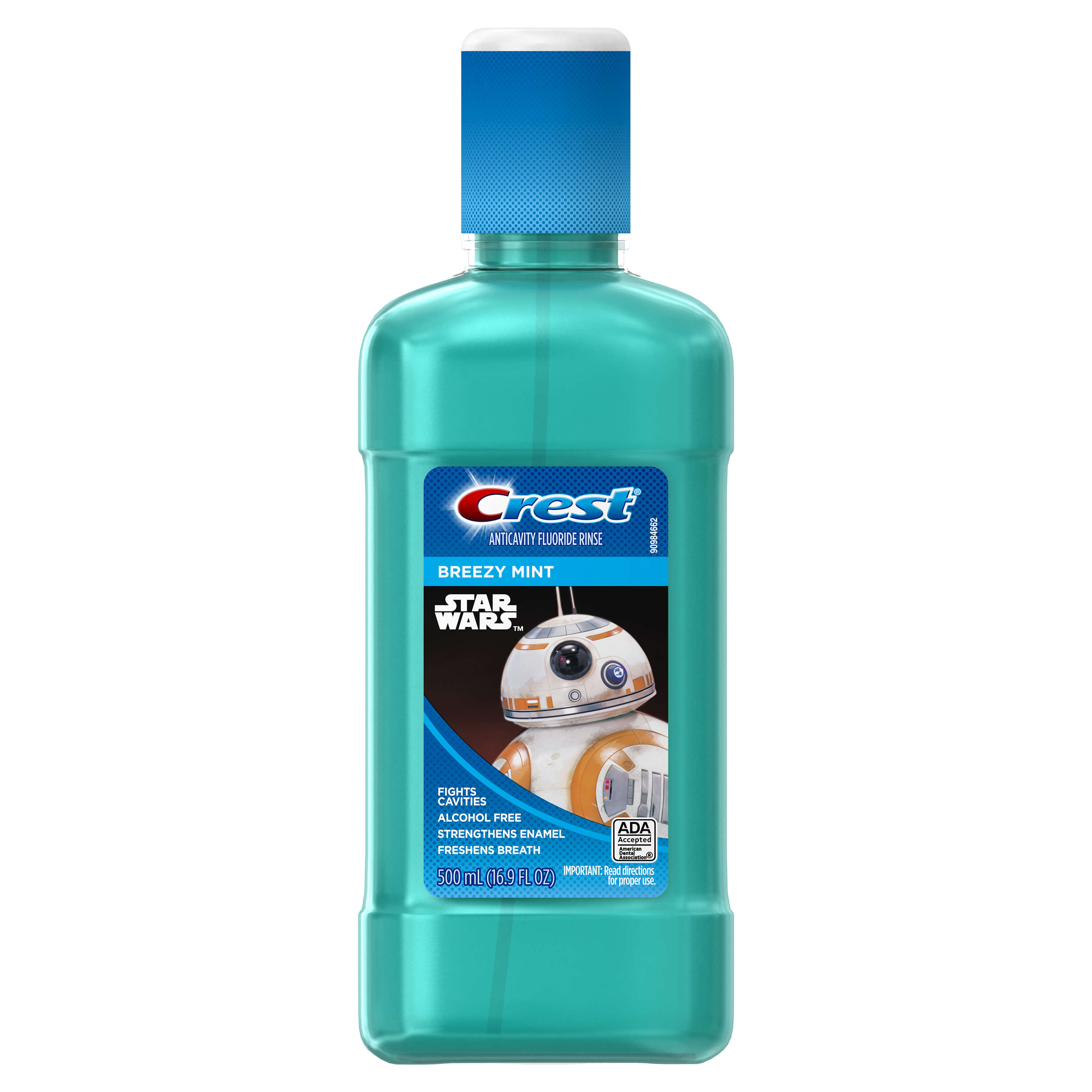 Crest Kid's Mouth Rinse featuring Disney's STAR WARS, 500 mL