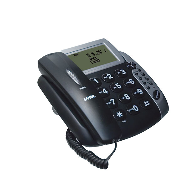 Talking Caller ID Speaker Phone with Large Buttons