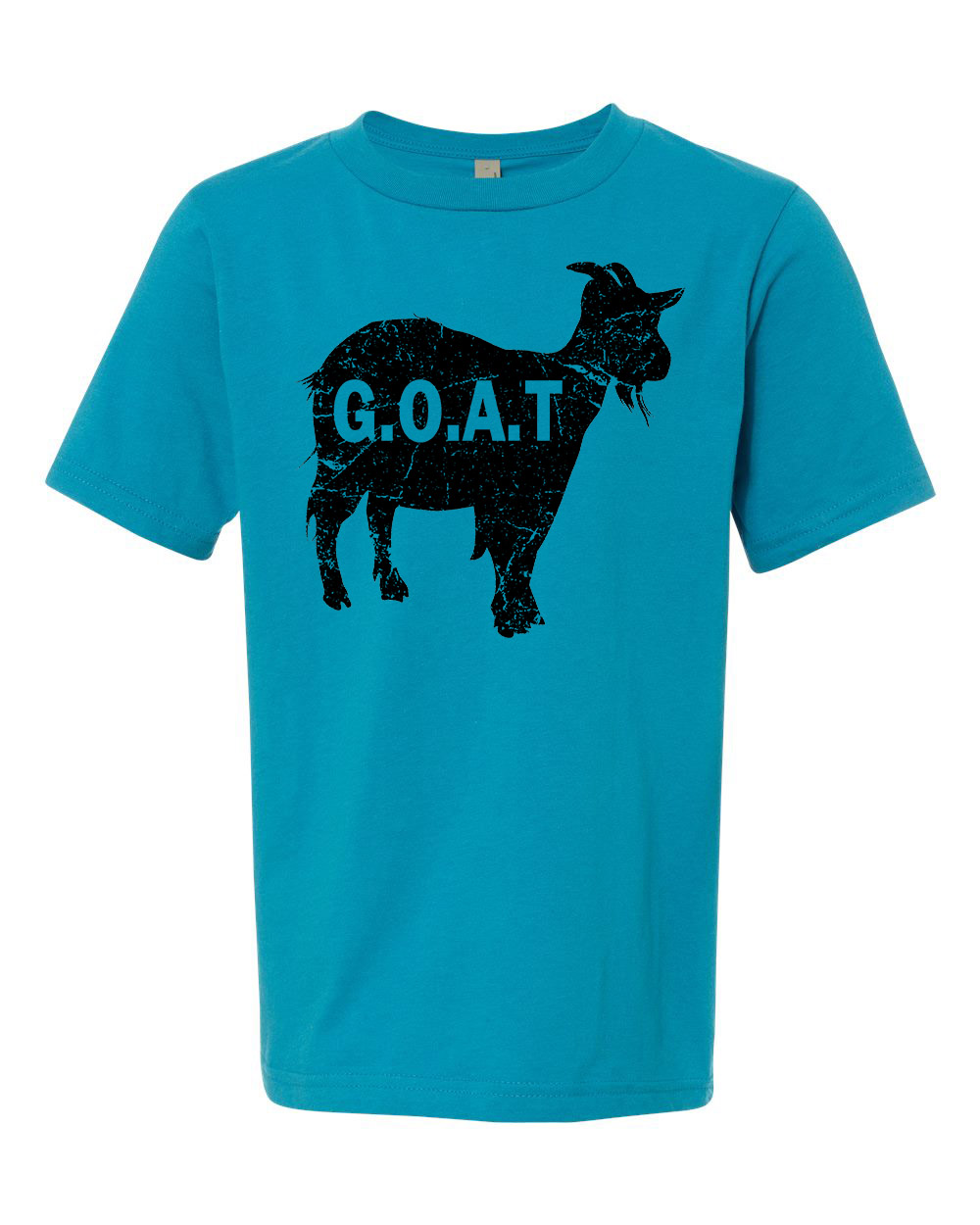 Greatest Of All Times G.O.A.T Youth Short Sleeve T-Shirt