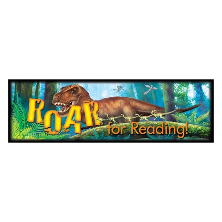 ROAR FOR READING DISCOVERING DINOSAURS BOOKMARKS