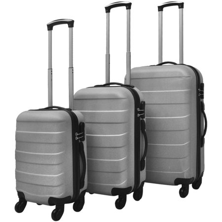 Yosoo 3 Piece Hardcase Trolley Set (Best Silver Clarinet With Cases)