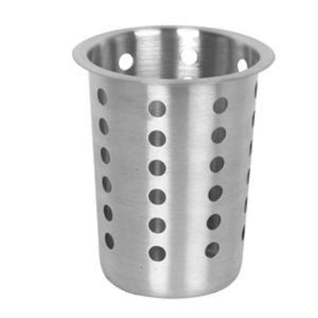 Stainless Steel flatware cylinder cups, containers for stainless steel flatware cylinder holders organizer for utensils silverware, forks, knives, spoons, Stainless steel.., By (Silverware Cylinder)