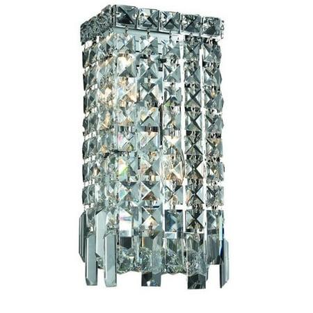 "Elegant Lighting Maxime 13"" 2 Light Elements Crystal Wall Sconce - image 1 de 1"