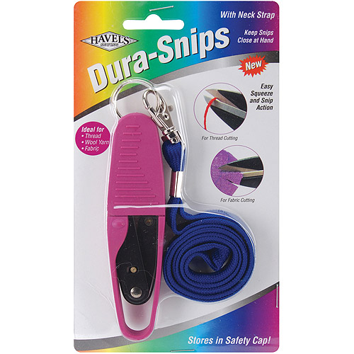 """Dura Snips Squeeze-Style Thread Snips, 4-3/4"""""""