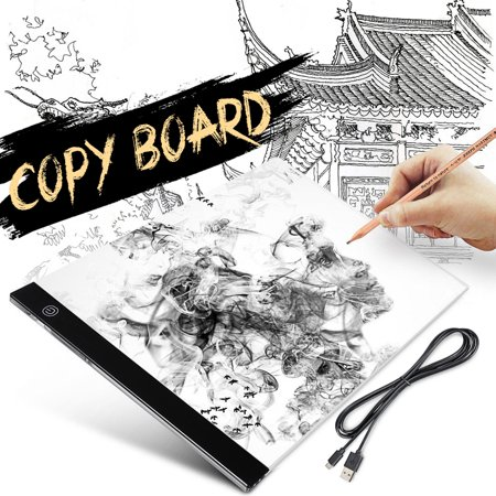 Led Tracing Light Box Board A4 A3 Artist Drawing Pad Table Stencil Adjustable Bright 2m Usb Cable Power Led Painting Board Adult Child