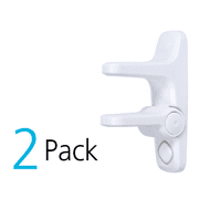Safety 1st OutSmart Adhesive Child Proof Door Lever Lock with Decoy Button, 2 Pack