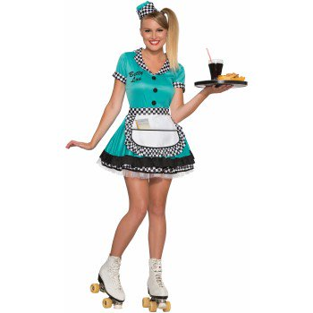 CO-50'S-BETTY LOU-XS/S - Cindy Lou Who Adult Costume