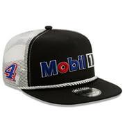 Kevin Harvick New Era Golfer Snapback Adjustable Hat - Black/White - OSFA