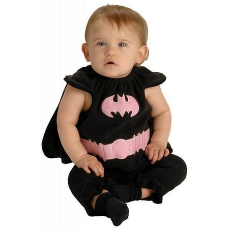 Rubie's Newborns 'Batgirl' Halloween Costume, Black/Pink, - Newborn First Halloween