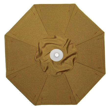 (Galtech 9-ft. Designer Teak Patio Umbrella)