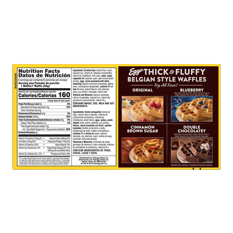 Kellogg's Eggo Waffles Thick & Fluffy