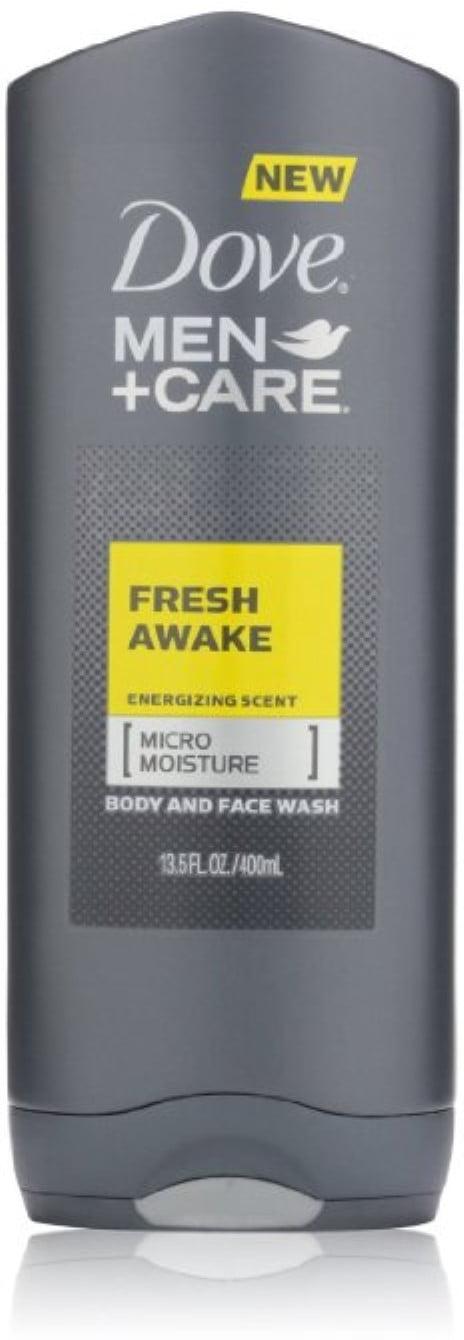 Dove Men Care Fresh Awake Body And Face Wash 13 5 Fl Oz Walmart Com Walmart Com