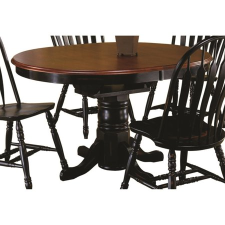 Sunset Trading Pedestal Butterfly Leaf Dining Table ()