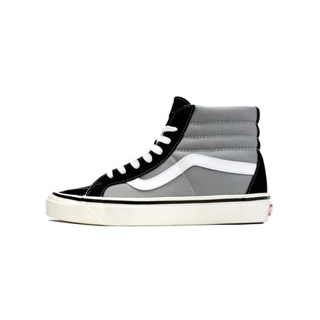 d7a3cfb461 Mens Vans SK8-Hi 38 DX Anaheim Factory Black Light Grey VN0A38GFMX6