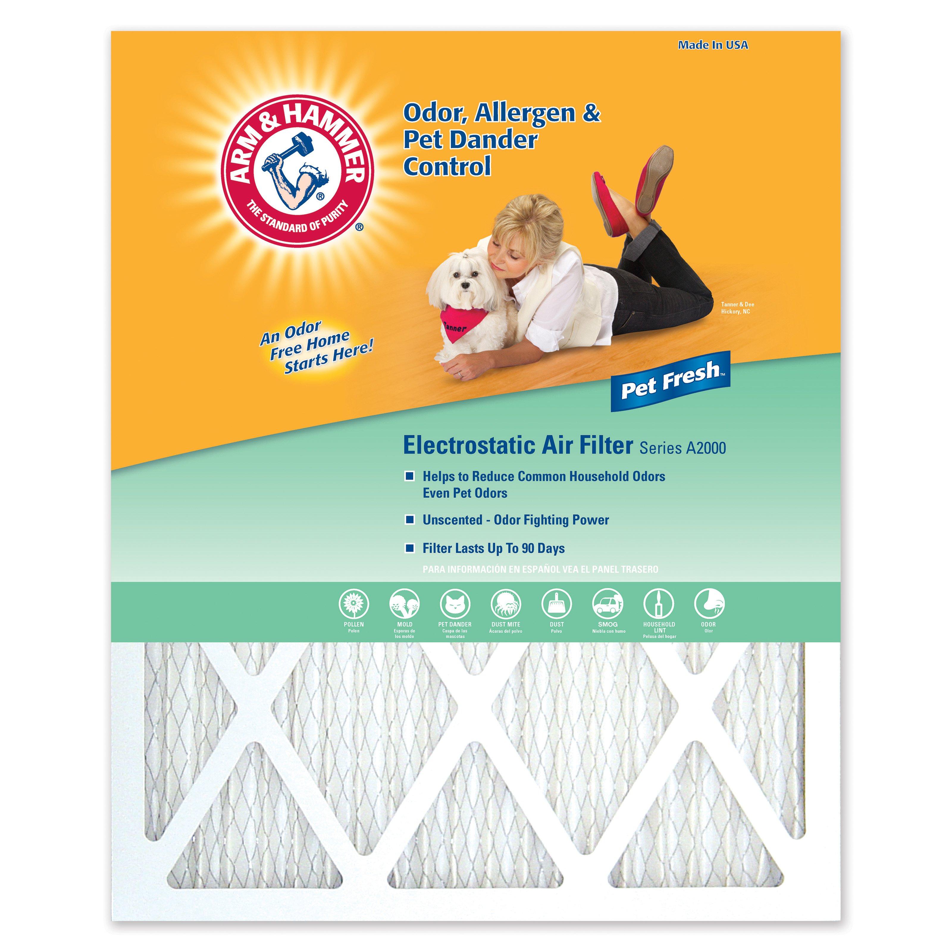Arm & Hammer Pet Fresh Air Filter- 4 Pack