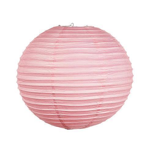 """Oriental Trading IN-13603905 18"""" Pink Paper Lanterns 1 Se..."""