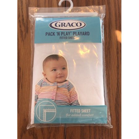 Graco Pack N Play Playard Quick Connect Fitted Sheet White