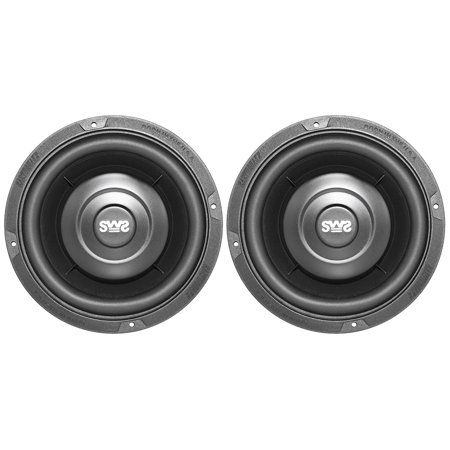 EAQSWS65X Earthquake Sound SWS-6.5X 6.5-inch Shallow Woofer System Subwoofers, 4-Ohm