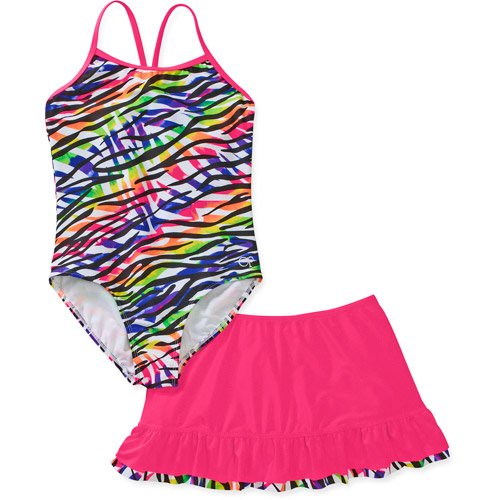 Op Girls Rowdy 2 Piece Swim Set
