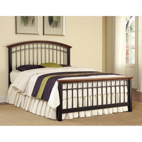 Home Styles Modern Craftsman Slat Bed
