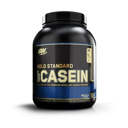 Optimum Nutrition Gold Standard 100% Casein, Chocolate Supreme, 24g Protein, 4