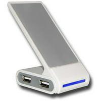 4 Port Compact Plug n Play High Speed USB Hub with Phone Mount