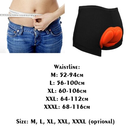 Thick Sponge Cushion Bike Bicycle Cycling Underwear Sports Shorts Summer Elastic Breathable Outdoor Riding Pants - image 6 de 7