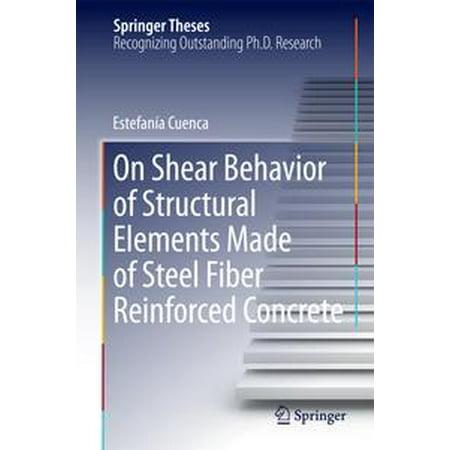 On Shear Behavior of Structural Elements Made of Steel Fiber Reinforced Concrete - - Structural Steel Design
