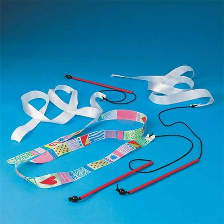 Color Me Ribbon Wands, Pack of 24 (Cheap Ribbon Wands)
