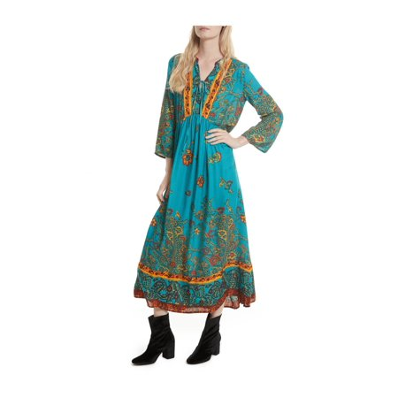 Free People Womens If You Only Knew Peasant Dress](Medieval Peasant Dress)
