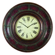 Wood Wall Clock With 36 Inch Diameter