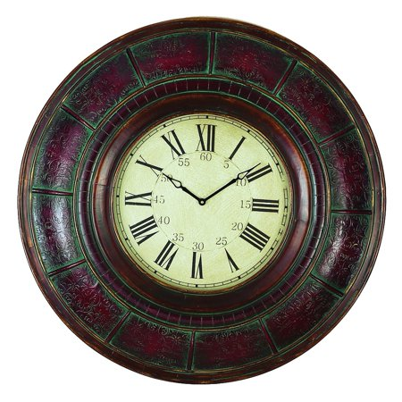Wood Wall Clock With 36 Inch Diameter ()