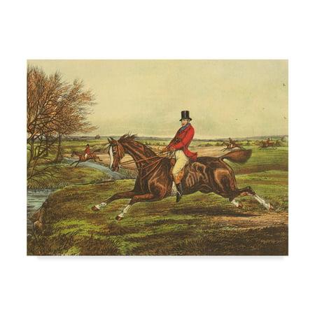 - Trademark Fine Art 'The English Hunt II' Canvas Art by Henry Alken
