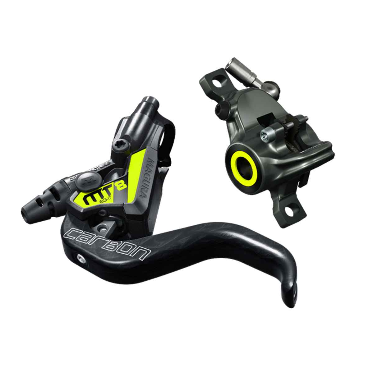 Magura Mt8 Sl Carbon Disc Brake*; Pm; F Or R; Carbon/Yellow - 2 701 657