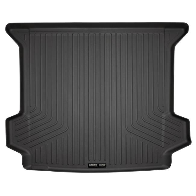 2nd Seat Floor Liner, Black - 2008-2017 Buick Enclave 2nd Row Bench Seats